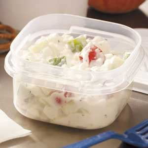 Cottage Cheese Salad Recipe Taste Of Home Salad With Cottage Cheese
