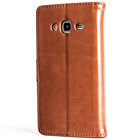 Samsung Galaxy J3 2016 Style Leather Flip With Soft Insi snakehive leather wallet flip cover for samsung