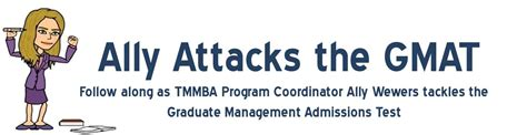 Of Washington Mba Gmat Score by Ally Attacked The Gmat Mission Accomplished Foster