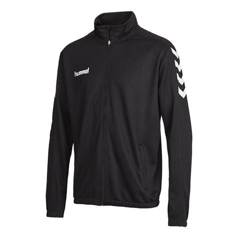 hummel core poly jacket black