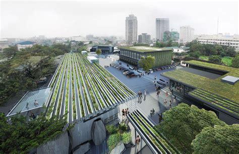 Landscape Fabric Manila Maynilad Water Distribution Complex By Hartnessvision