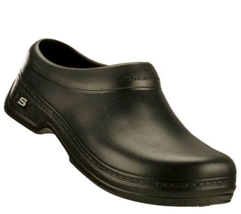 skechers clogs for skechers s work clogs oswald balder a333963 qvc