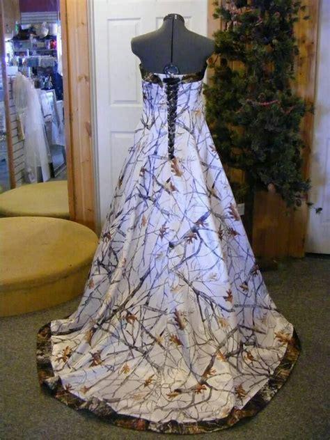 White Camo Wedding Dresses by Wedding Dresses Mossy Oak Style Discount Wedding