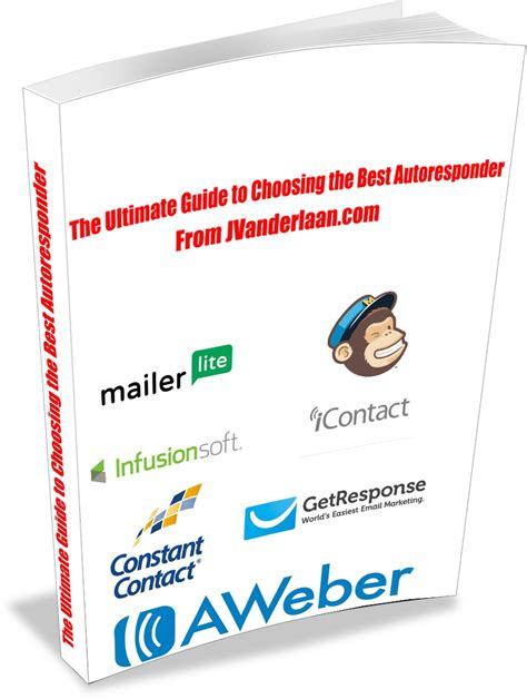 best autoresponders the ultimate guide to choosing the best autoresponder for