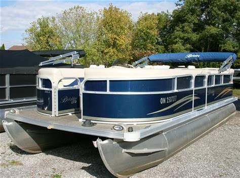 pontoon boats for sale used ontario berkshire pontoons 200cl 2010 used boat for sale in