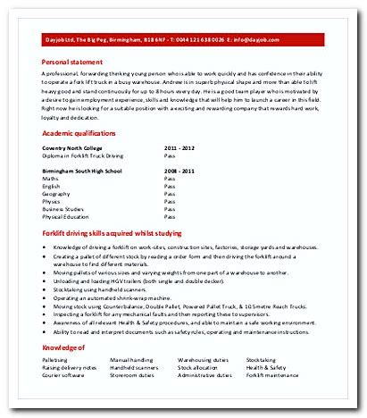 Warehouse Driver Sle Resume cover letter warehouse driver 28 images forklift operator cover letter cover letter for