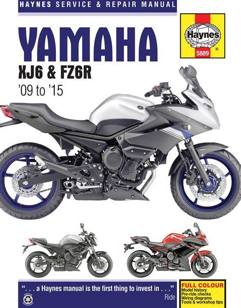 Haynes Repair Manual Yamaha Xj6 Amp Fz6r