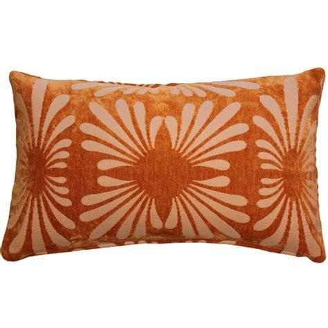 Orange Throw Pillows Velvet Orange 12x20 Throw Pillow From Pillow Decor