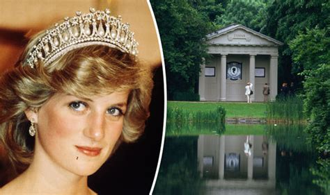 where is princess diana buried where is princess diana buried grave renovated to