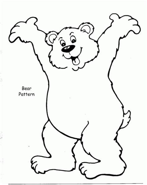 brown bear brown bear coloring pages coloring home