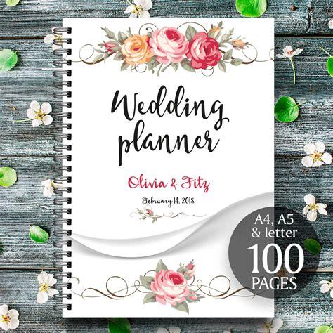 free printable wedding binder covers floral printable wedding planner wedding printable binder