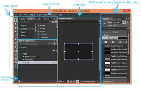 tutorial visual studio blend blend for visual studio workspace xaml infragistics blog