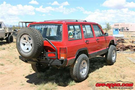 jeep xj stock bumper smittybilt xrc bumper install on jeep xj