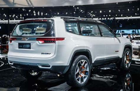 Jeep Hybrid Suv Jeep Yuntu In Hybrid Suv Concept Debuts In Shanghai