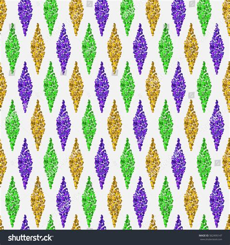 mardi gras colors white background traditional mardi gras seamless stock