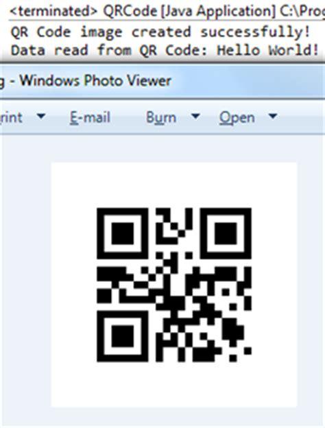 tutorial zxing java java qr code java tutorial blog