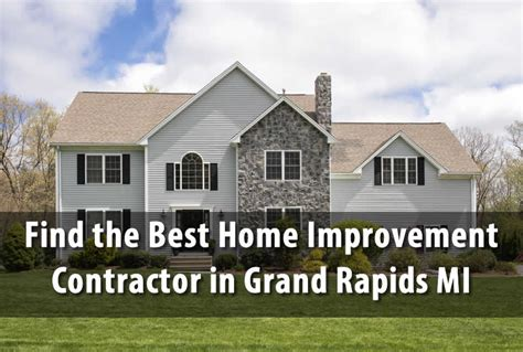 best home improvement contractor in grand rapids mi