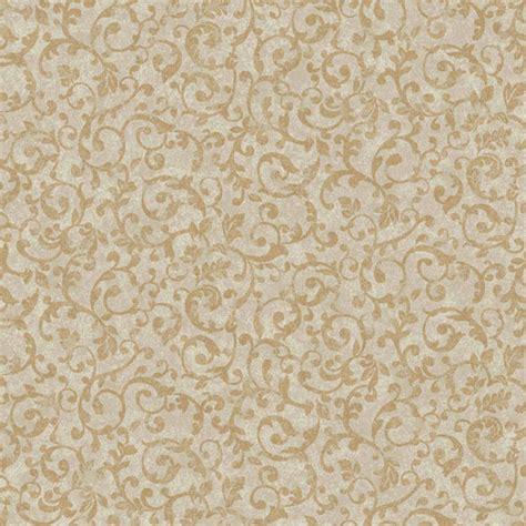 wallpaper gold silver silver and gold small scroll wallpaper