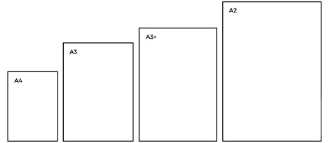 printable area a3 paper the a paper system paper size table and information