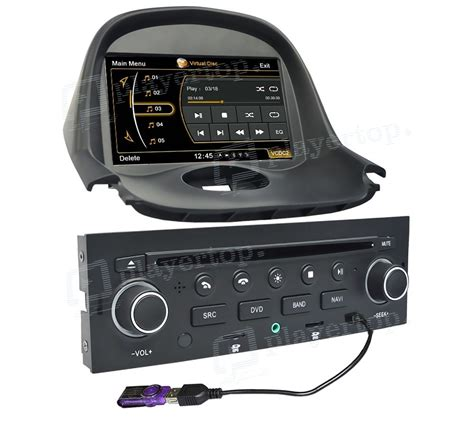 Auto Radios by Autoradio Peugeot 206