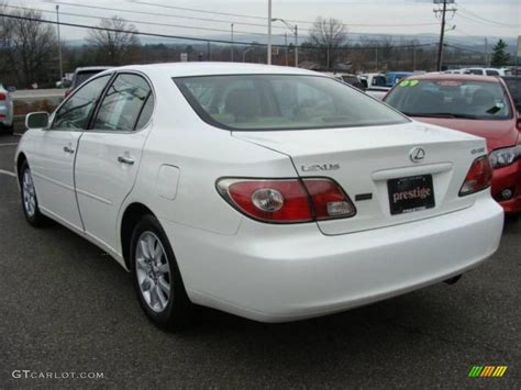 lexus es 2003 2003 crystal white lexus es 300 23451854 photo 4