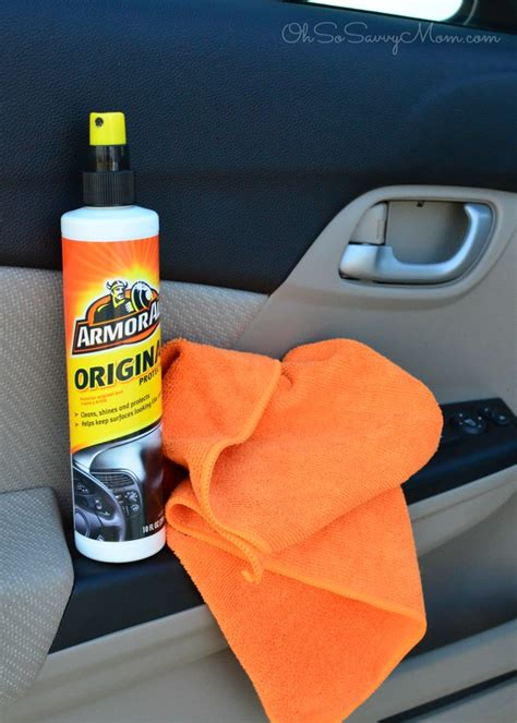Armor All Interior Protectant by Give Thegiftofclean Hacks To Detail Your Car At Home