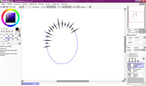 Paint Tool Sai Speech Bubbles Tutorial By Draconianrain On