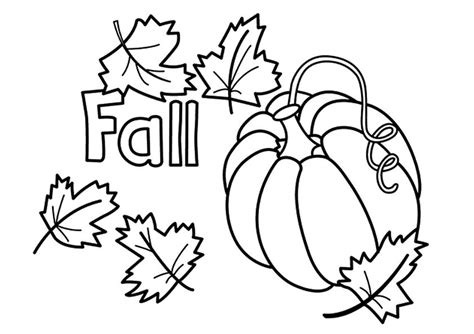 Printable Coloring Pages Autumn | free printable fall coloring pages for kids best