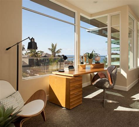marvelous home office designs  ocean view