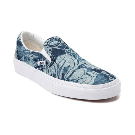 Vans Slipon vans slip on floral skate shoe