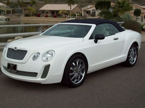 chrysler bentley chrysler sebring cross dressed as bentley continental gt