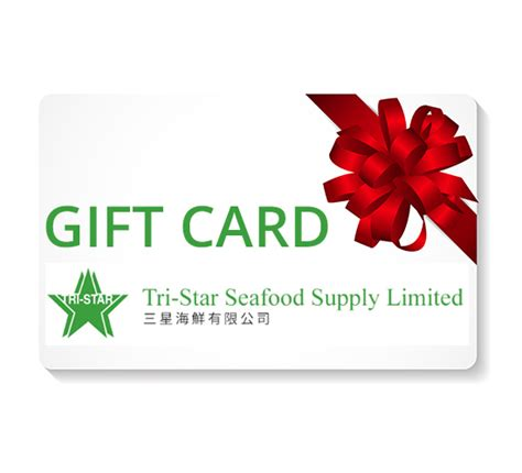 The Star Gift Card - buy e gift card online buy fresh seafood frozen seafood gift live seafood
