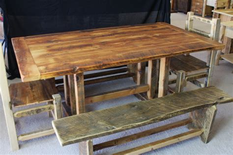 barnwood dining room table barnwood dining room furniture rustic dining tables
