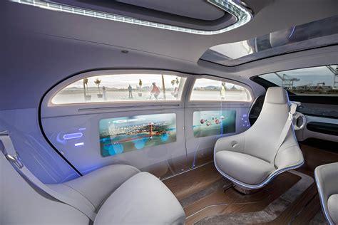 future cars inside first drive mercedes benz f015 concept