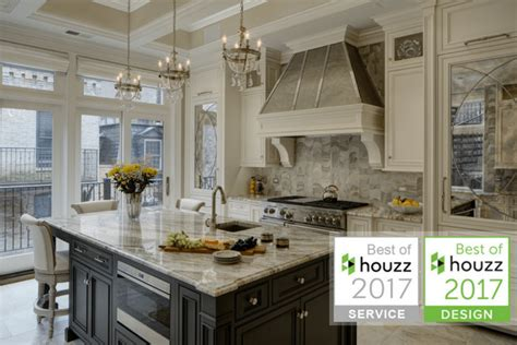 best kitchens of 2017 drury design honored with two 2017 best of houzz design