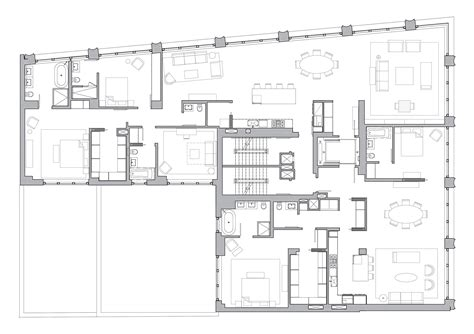 10 bond floor plans selldorf architects 10 bond apartment building