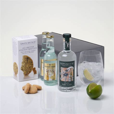 ultimate gin and tonic kit by whisk hers