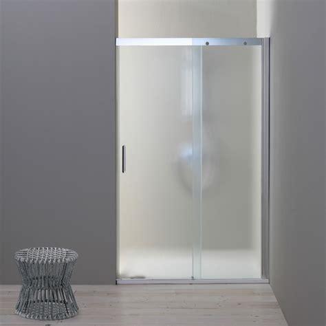 porta doccia porta nicchia con cristallo opaco da 150 cm kv store