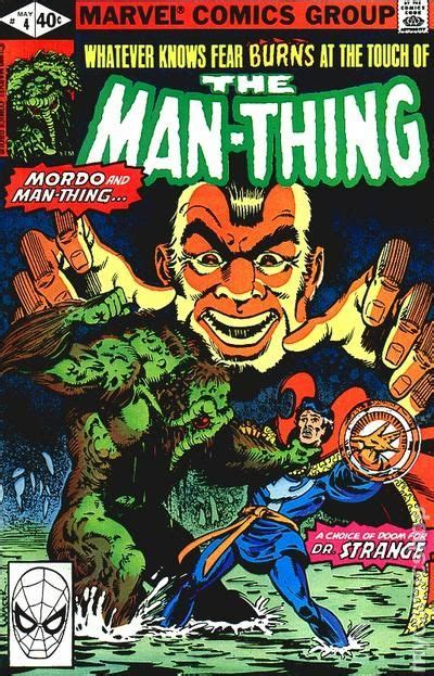 the thing marvel comic book man thing 1979 2nd series comic books