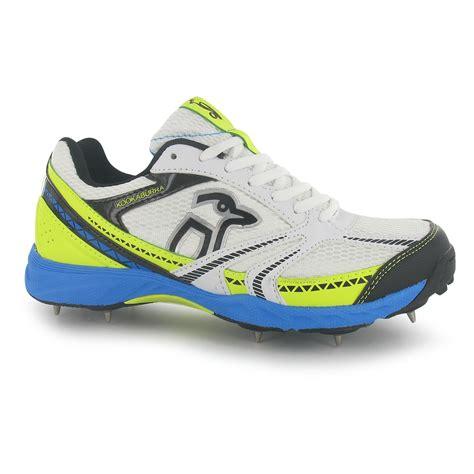 kookaburra mens pro 515 spike cricket shoes lace up sports