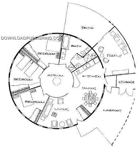 floor plans for round homes round home plans smalltowndjs com