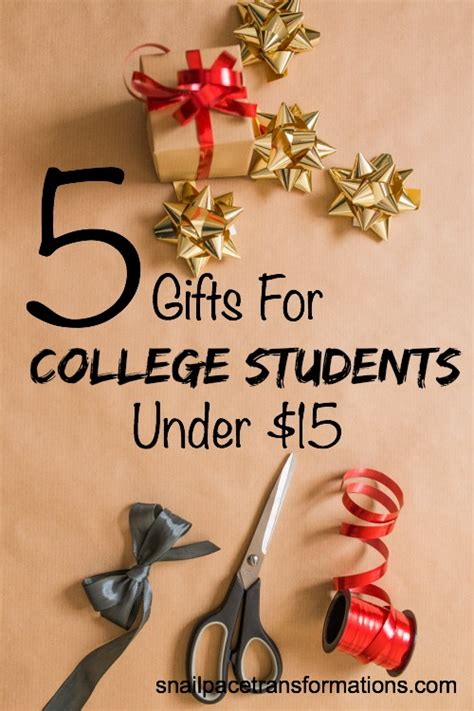 Gift Cards For College Students - 5 gifts for college students under 15