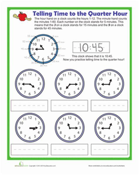 clock worksheets quarter hour quarter to time worksheets popflyboys