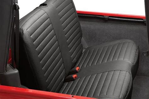 2006 Jeep Wrangler Seat Covers Bestop Jeep Rear Bench Seat Covers 2003 2006 Jeep Wrangler