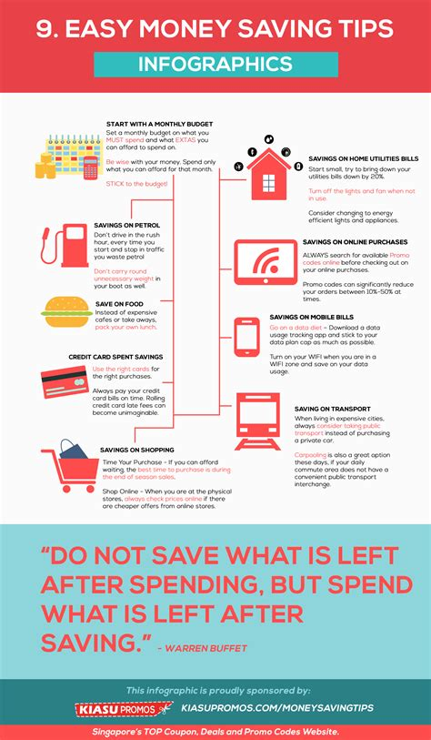 tips on how to start saving money to buy your dream house 9 easy money savings tips infographic