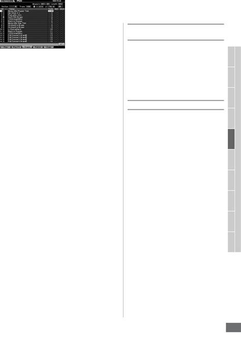 motif xs pattern mode handleiding yamaha motif xs7 pagina 211 van 320 english
