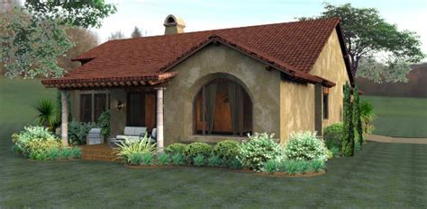 Cottage European Mediterranean Tuscan House Plan 65893 Tuscan Cottage House Plans