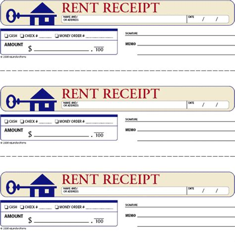 Rent Receipt Template Balance Due by Free Rent Receipts For Landlords Rent Receipt This