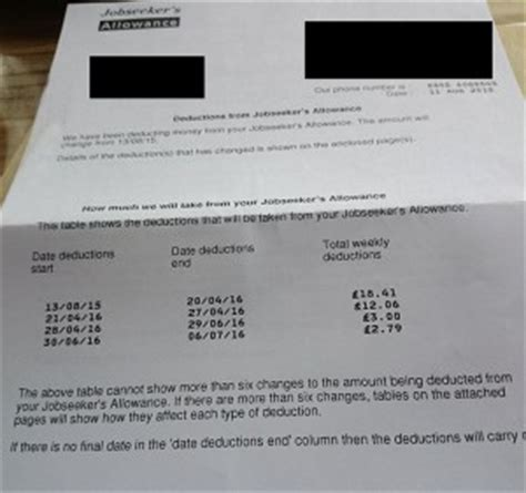 Tax Credit Overpayment Dispute Letter So Again What Exactly Is The Planned End For In Poverty And Serious Debt Kate Belgrave