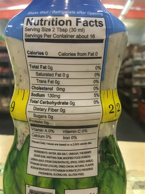 how many calories in light ranch dressing carbs ranch dressing nutrition facts besto